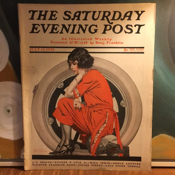 Vintage Other - July 15, 1922 The Saturday Evening Post